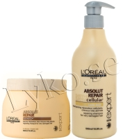 loreal skadat hår schampo