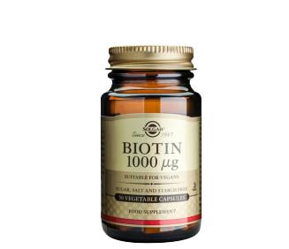 Biotin - kosttillskott för starkare hår