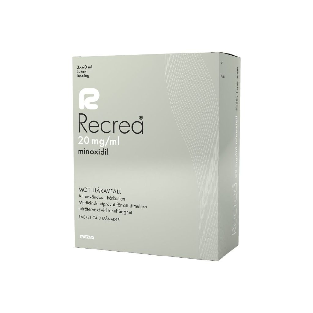 Recrea med 20 mg/ml minoxidil