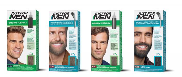 Hårfärger för män från märket Just for Men
